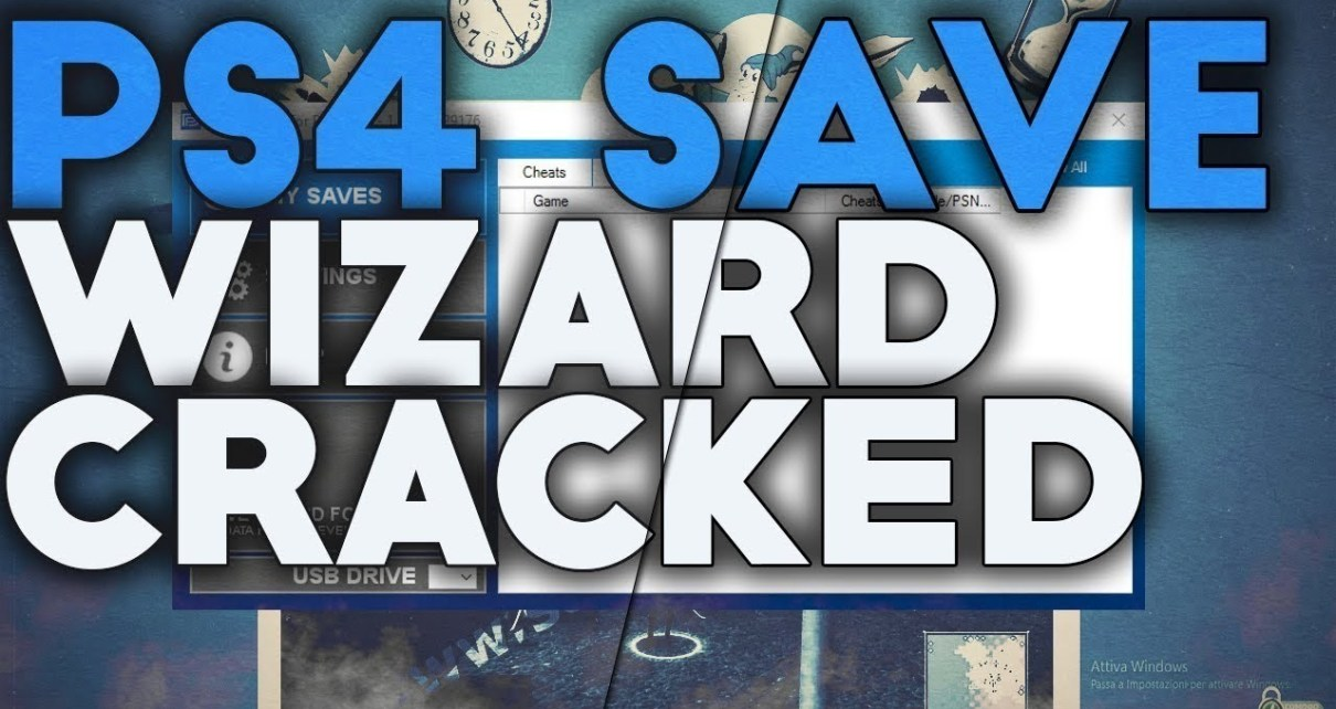 Save Wizard PS4 2020 Cracked